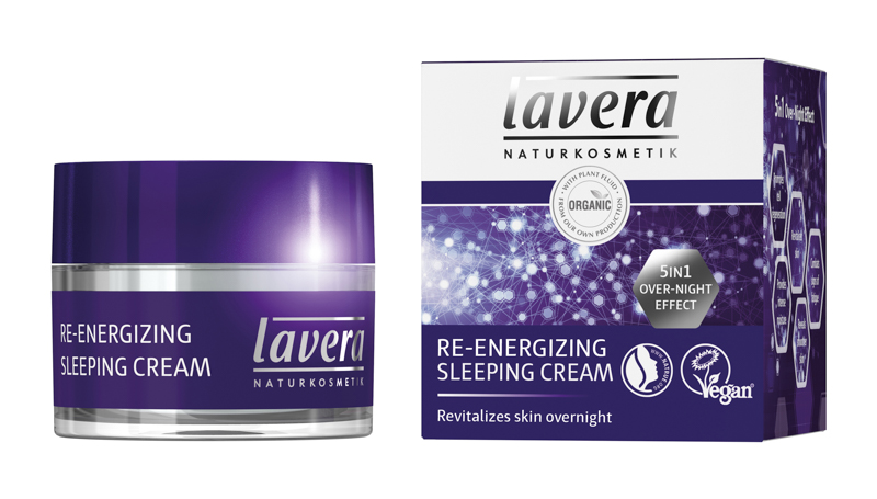 lavera Re-energising night cream