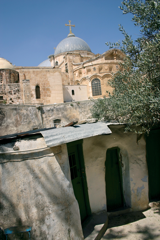 Though there are disputes, it is generally held that the Church of the Holy Sepulchre was built on the spot of the Golgotha