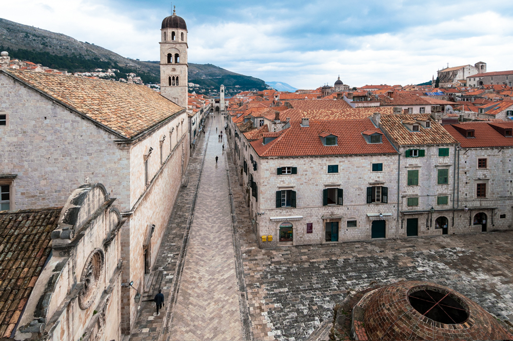 Stradun, Dubrovnik's 300-metre main street, used to be packed with tourists