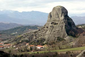 Some monasteries in Meteora are accessible only by using special mountaineering equipment