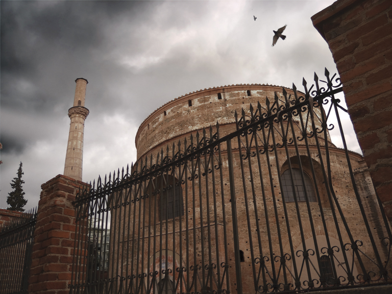 The Rotunda was probably built as a mausoleum for Emperor Galerius