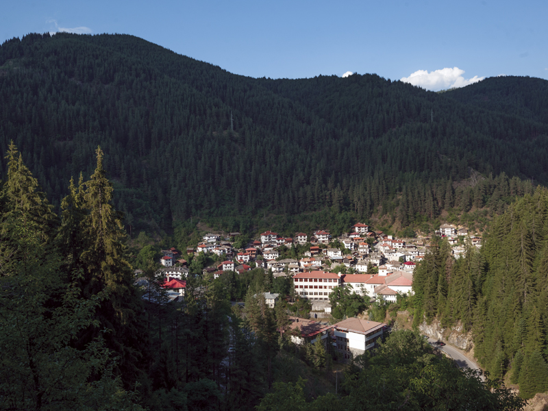 Shiroka Laka is located in one of the most picturesque parts of the Rhodope