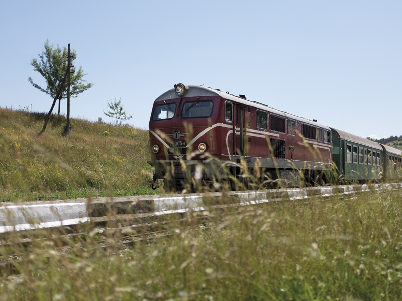 narrow gauge train bulgaria
