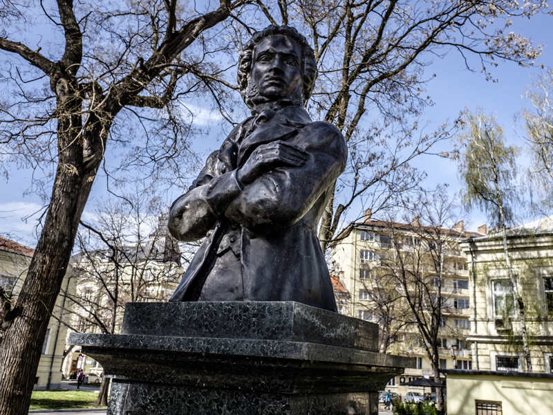 Pushkin monument, Sofia