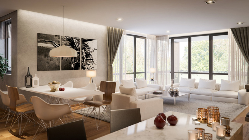 Edelweiss residential complex Living Room