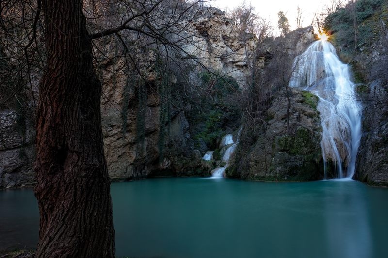 Hotnitsa waterfall