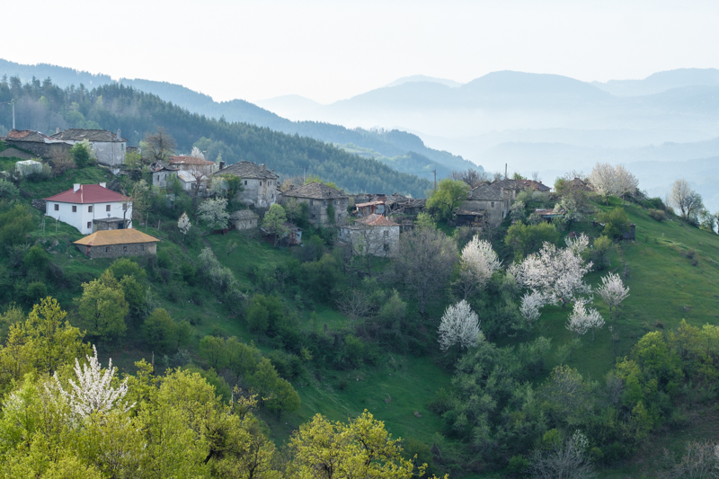 Sintchets village, the Rhodope