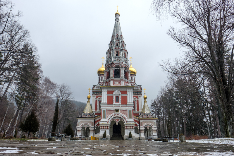 Russian church by Shipka Pass
