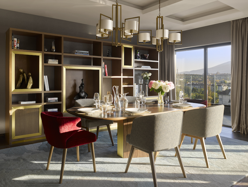 InterContinental Sofia Presidential Suite Private Dining