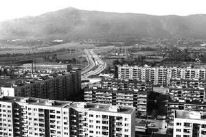 Erecting pre-fab housing estates was hailed as one of the greatest achievements of Communism in the 1960s and 1970s