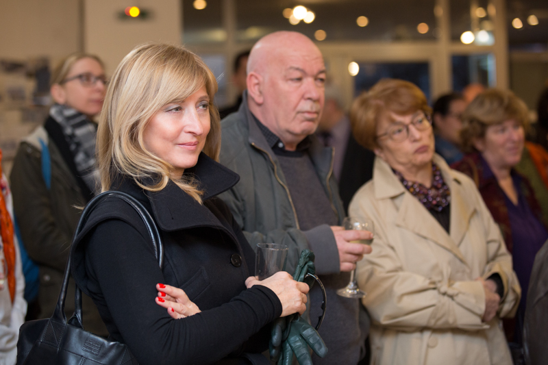 Former Bulgarian National Television manager Sevda Shishmanova, journalist Yovo Nikolov and Koprinka Chervenkova, editor of K newspaper