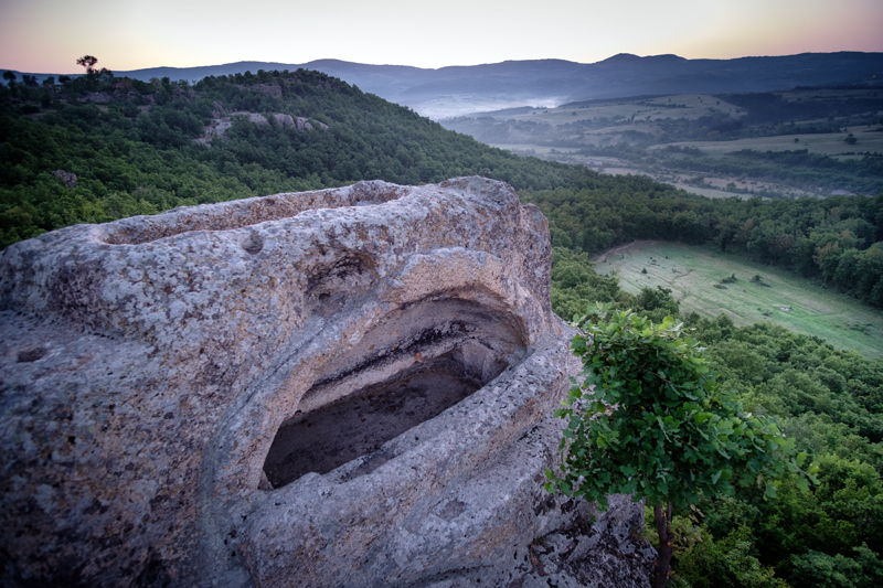 Tatul Thracian Rock Shrine