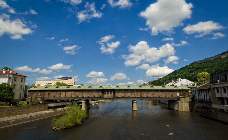 Lovech, the covered bridge