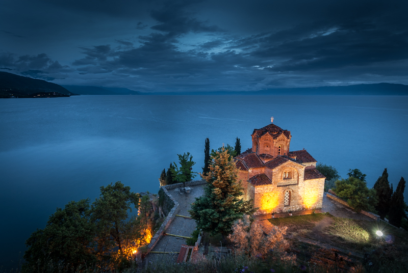 Ohrid Lake, North Macedonia