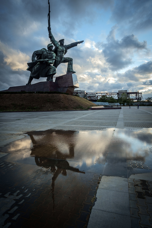 Sevastopol, Monument to Soldier and Sailor