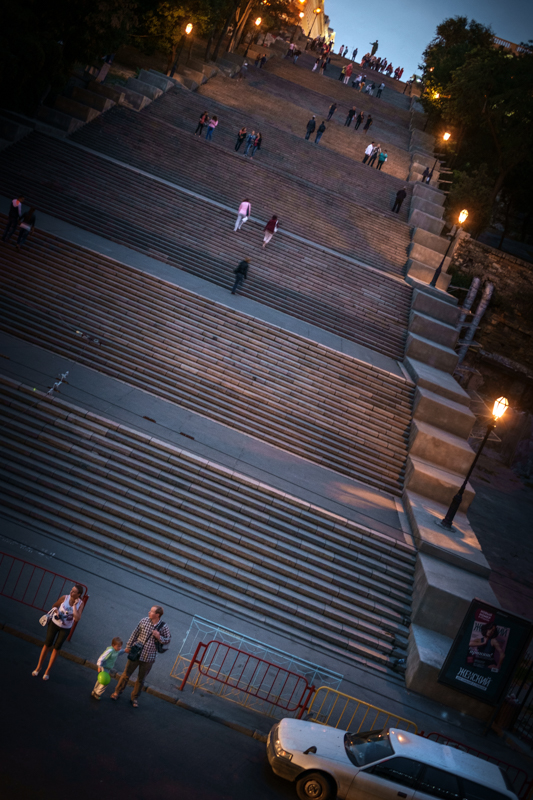 Odessa, Potemkin Stairs