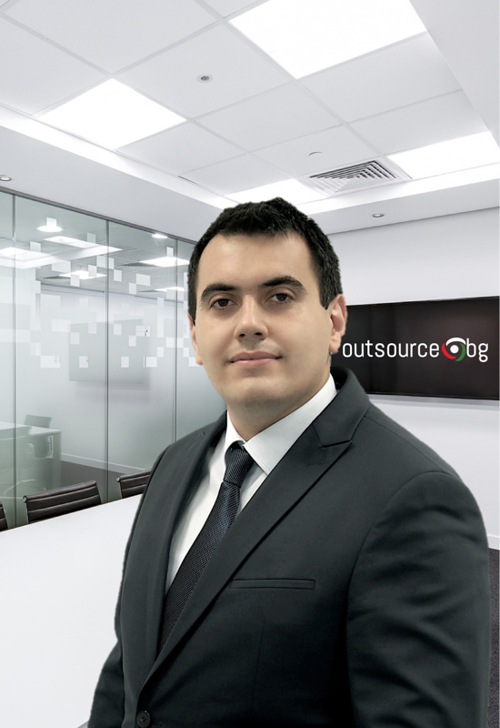Blagovest Kirilov, CEO of OutsourceBG Services and Hiring Ltd