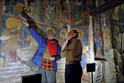 Some Bulgarian researchers consider the 13th Century Boyana murals to have revolutionised religious art many years before Giotto