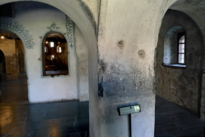 The worst slaughter took place on the night of 2 May, in the St Nedelya Church. The building is still pockmarked by bullets