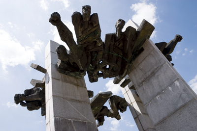 Impressed? Monument to the Chiprovtsi Uprising dominates the centre of the town