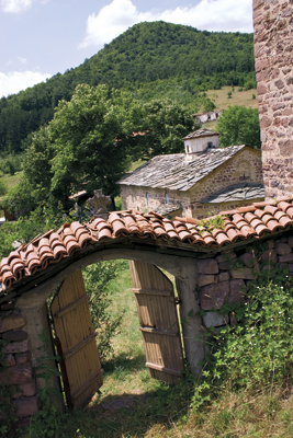 The Chiprovtsi Monastery was built in the 10th Century but the current buildings are from 1829