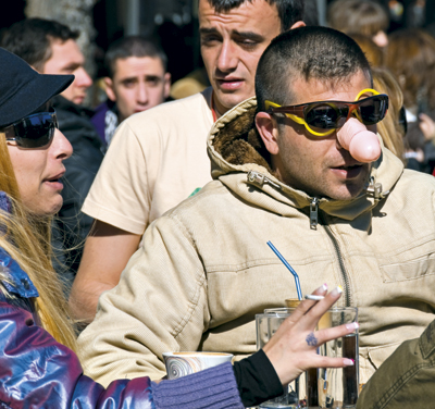 Carnival masks and rites in Tyrnavos are much different from those in the other parts of Greece