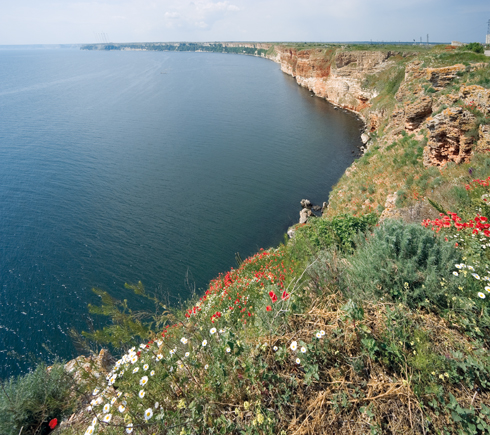 In 1941 Kaliakra gained protected area status for its rich wildlife and steppe ecosystem