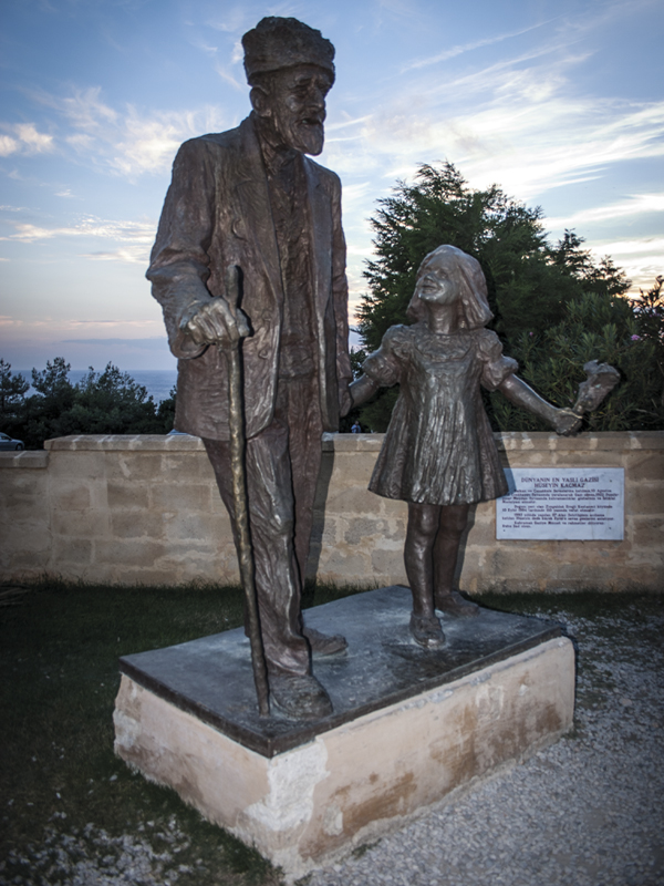 Gallipoli, Monument to the last surviving Turkish solider who fought at Gallipoli, in 57th Infantry Regiment Cemetery and Memorial