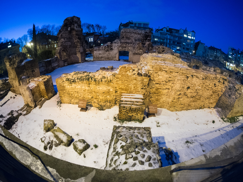 The Roman public baths at Varna, ancient Odessos, are the largest in the Balkans