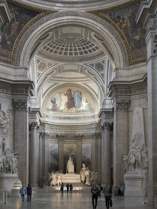 The Panthéon in Paris, home to the original Foucault's Pendulum