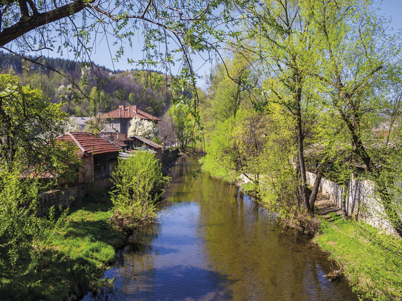 The idyllic set of Tryavna makes the town a perfect place for a getaway from the big city