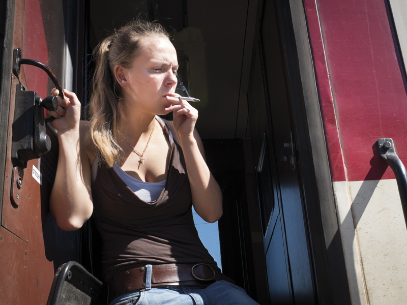 Total smoking ban on Bulgarian trains was imposed several years ago