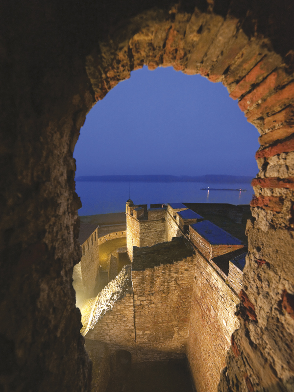 The latest layout of Baba Vida fortress in Vidin is from Ottoman times