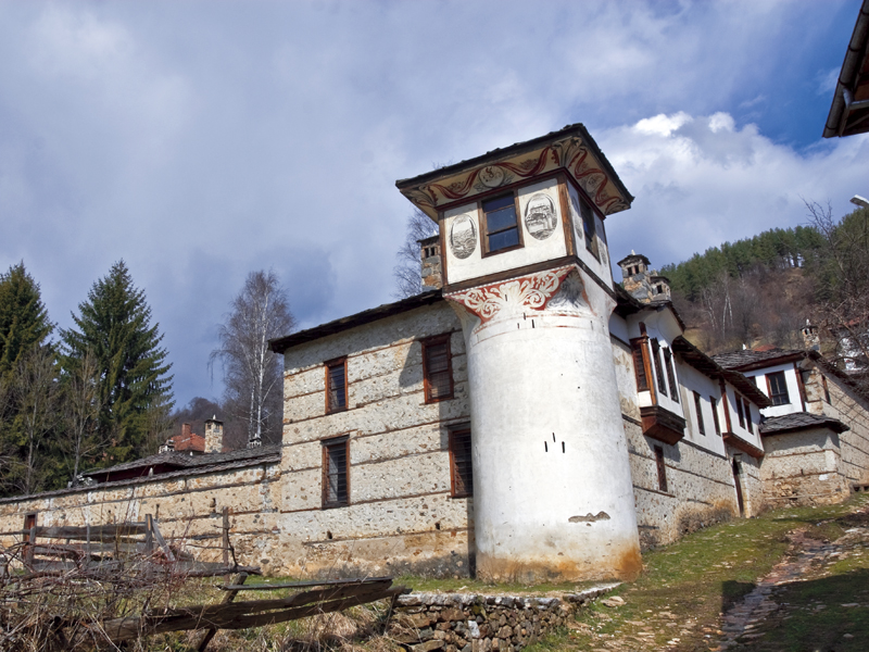 The Agushev Konaks, in the Rhodope village of Mogilitsa
