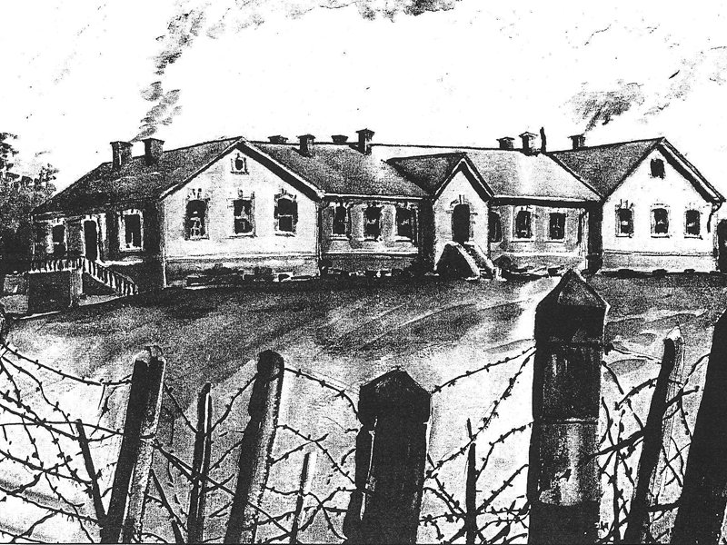 American and English POW camp, Bulgaria