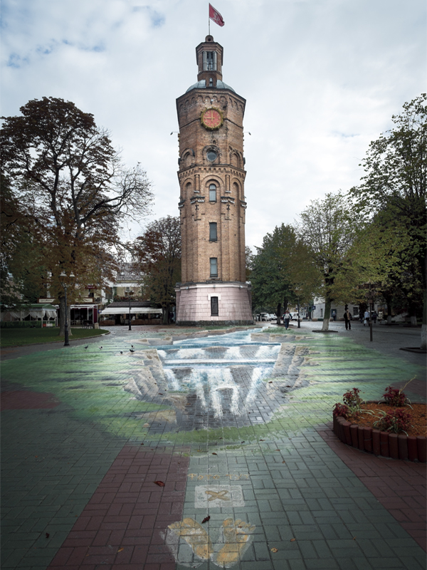 Vinnytsia's old water tower