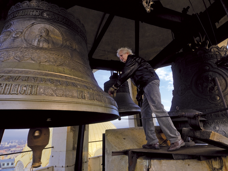 THE BELL RINGER OF ALEKSANDR NEVSKI CATHEDRAL
