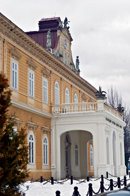 The Historical Museum and the Art Museum of Montenegro share the same building in the centre of Cetinje