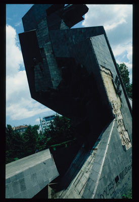 Ironically, the 1300 Years of Bulgaria monument started falling apart a few weeks after its official inauguration in 1981