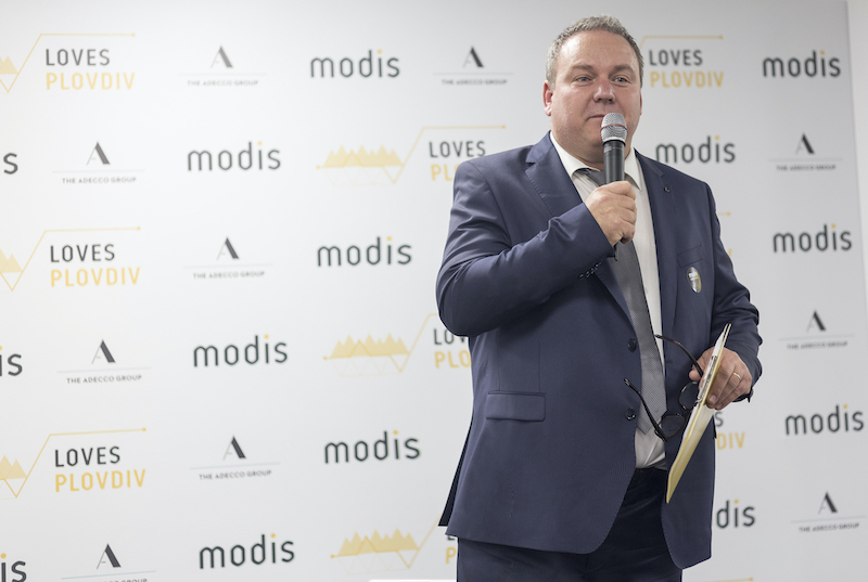 Philippe Rouvrais Head of Delivery General Manager Modis Bulgaria