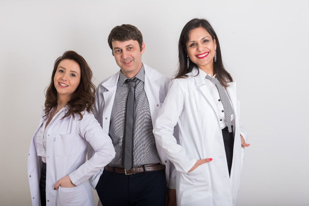 The medical team of Liliya Trichology Center