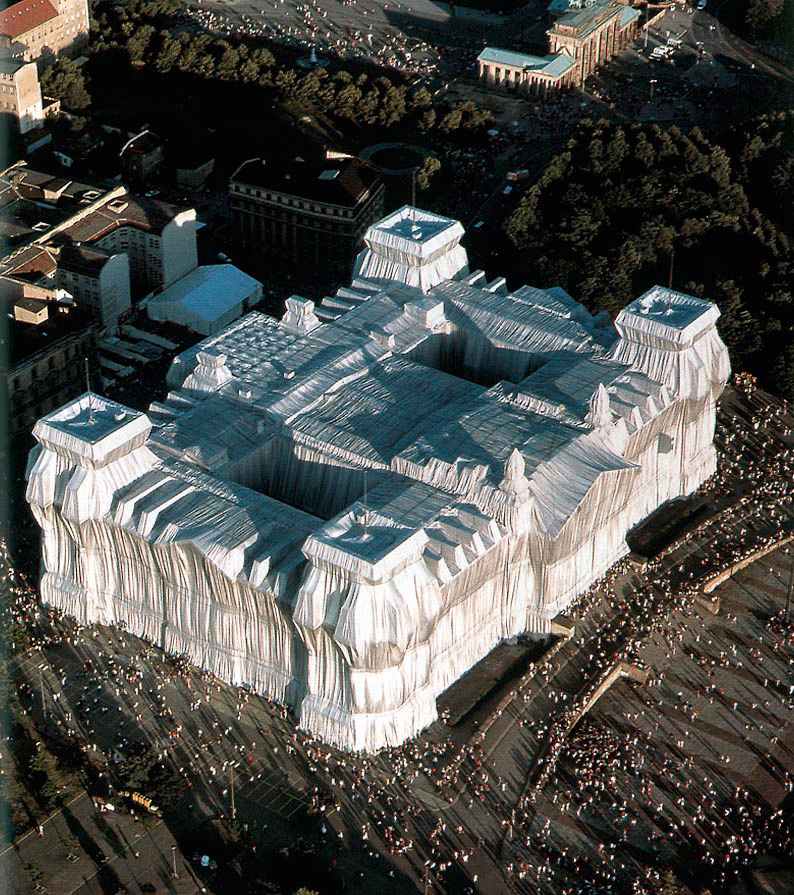 Christo's wrapped Reichstag