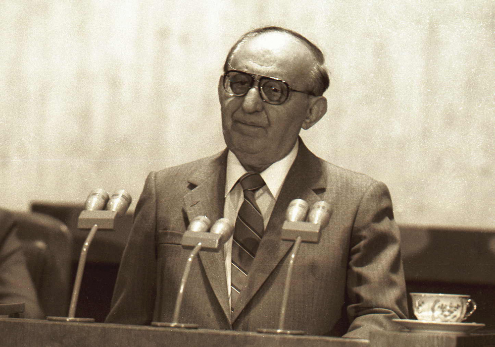 Todor Zhivkov was deposed as late as 1989