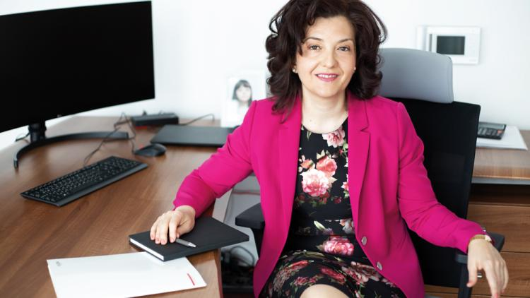Milena Videnova, CEO of AXPO Bulgaria